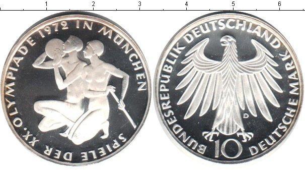Каталог монет - ФРГ 10 марок