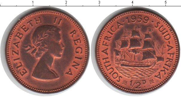 Каталог монет - ЮАР 1/2 пенни