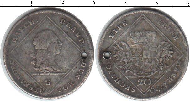 Каталог монет - Бранденбург 20 крейцеров