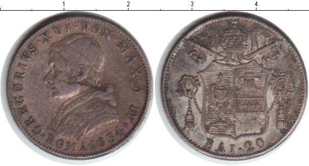 Каталог монет - Ватикан 20 байоччи