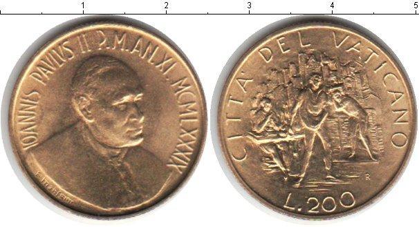 Каталог монет - Ватикан 200 лир