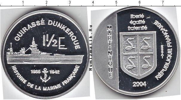 Каталог монет - Мартиника 1 1/2 евро