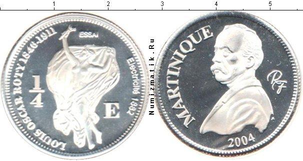 Каталог монет - Мартиника 1/4 евро
