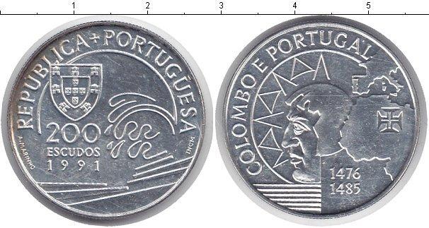 Каталог монет - Португалия 200 эскудо
