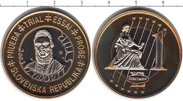 Каталог монет - Словения 1 евро