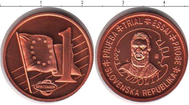 Каталог монет - Словения 1 евроцент
