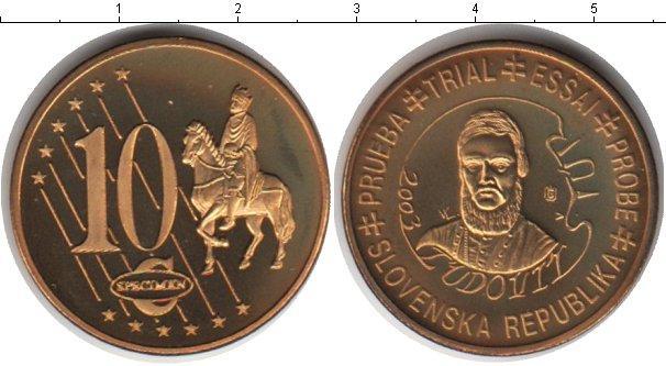 Каталог монет - Словения 10 евроцентов