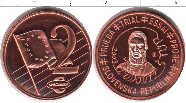 Каталог монет - Словения 2 евроцента