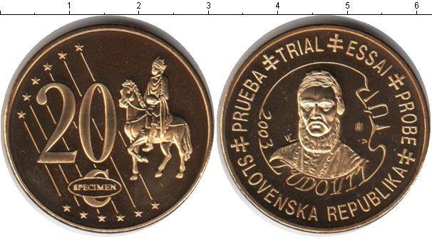 Каталог монет - Словения 20 евроцентов