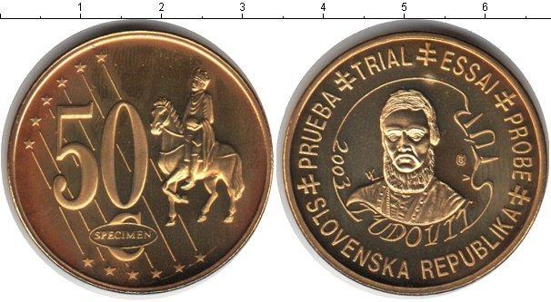 Каталог монет - Словения 50 евроцентов