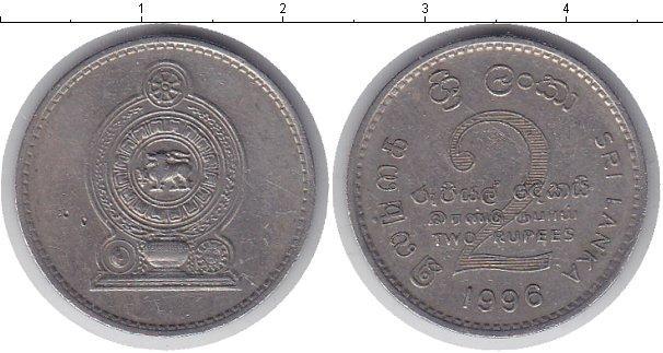 Каталог монет - Шри-Ланка 2 рупии
