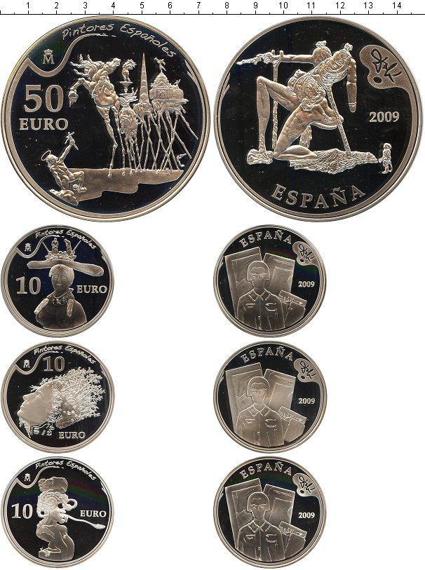 Каталог монет - Испания Творчество Сальвадора Дали