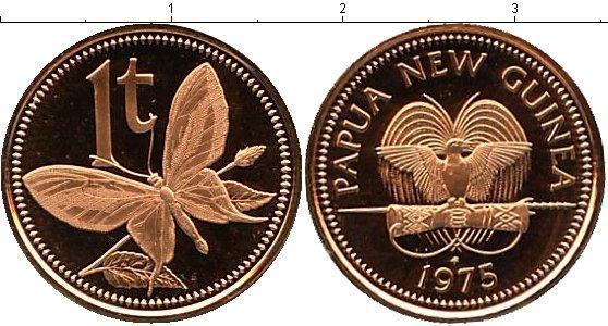 Каталог монет - Папуа-Новая Гвинея 1 тоа
