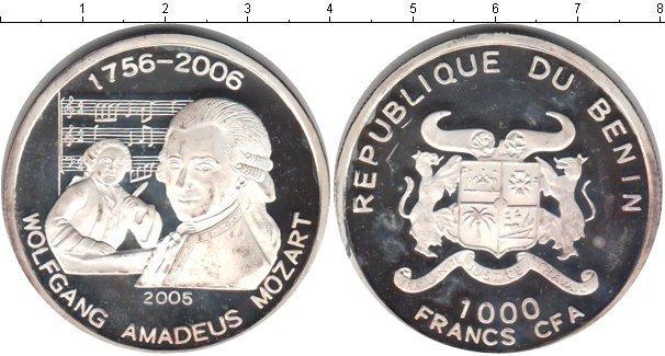 Каталог монет - Бенин 1000 франков