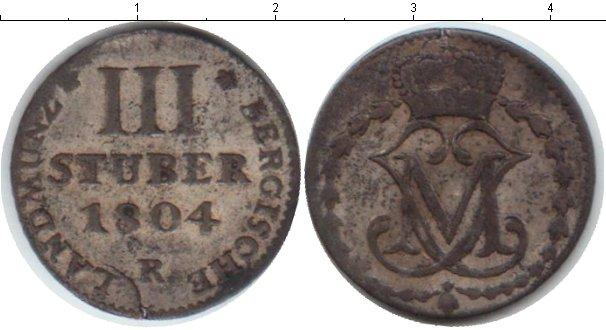 Каталог монет - Берг 3 стюбера