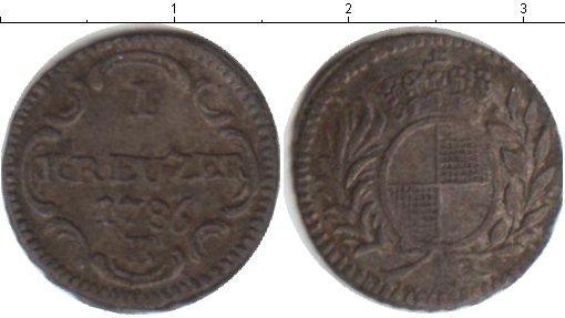 Каталог монет - Бранденбург 1 крейцер