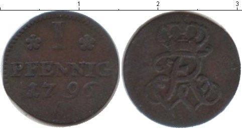 Каталог монет - Бранденбург 1 пфенниг