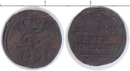 Каталог монет - Бранденбург 1 хеллер
