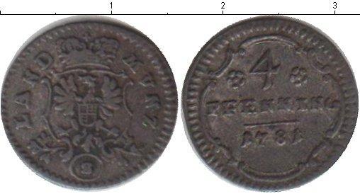 Каталог монет - Бранденбург-Ансбах 4 пфеннига