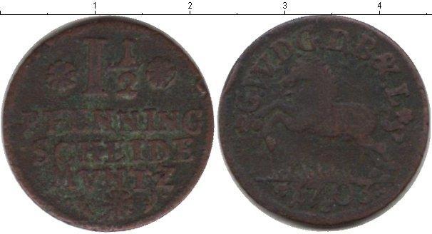 Каталог монет - Брауншвайг 1 1/2 пфеннига
