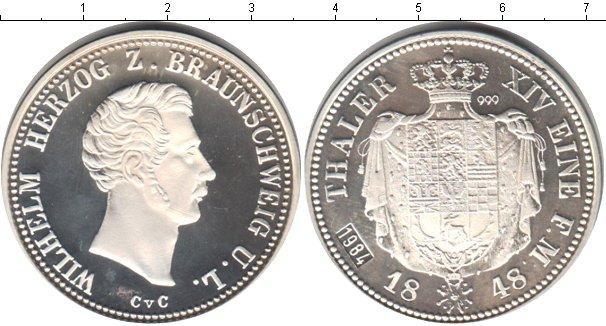 Каталог монет - Брауншвайг-Вольфенбюттель 1 талер