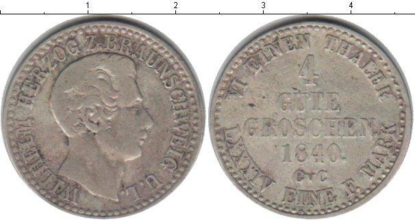 Каталог монет - Брауншвайг-Вольфенбюттель 4 гроша