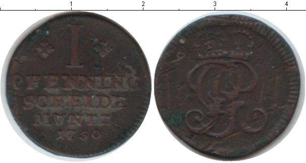 Каталог монет - Брауншвайг-Люнебург-Каленберг-Ганновер 1 пфенниг