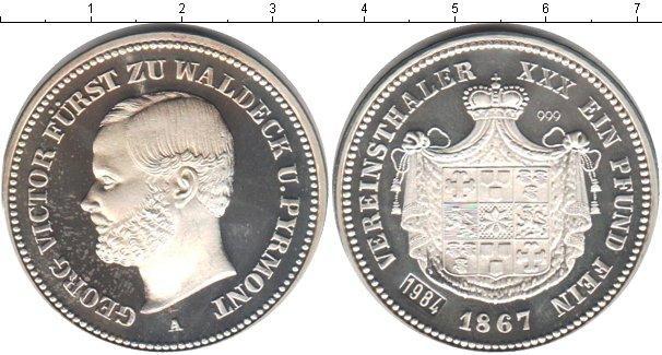 Каталог монет - Вальдек-Пирмонт 1 талер