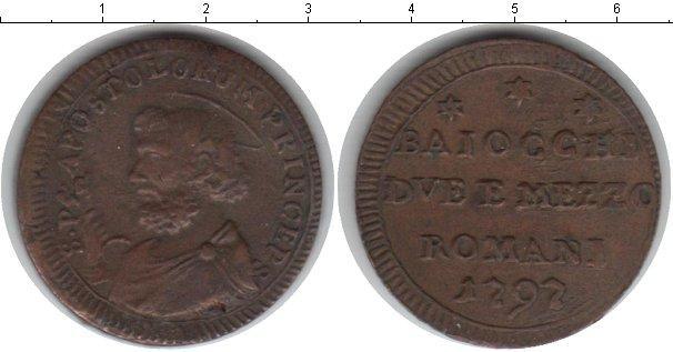 Каталог монет - Ватикан 1 байоччи