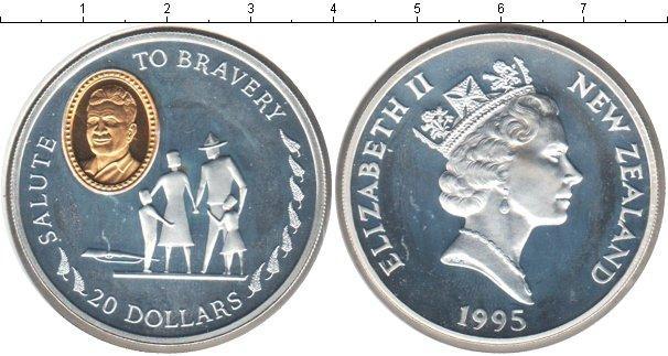 Каталог монет - Новая Зеландия 20 долларов