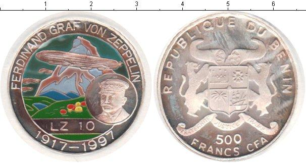 Каталог монет - Бенин 500 франков