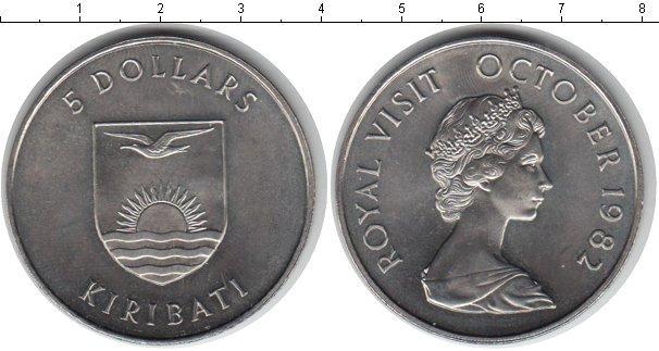 Каталог монет - Кирибати 5 долларов