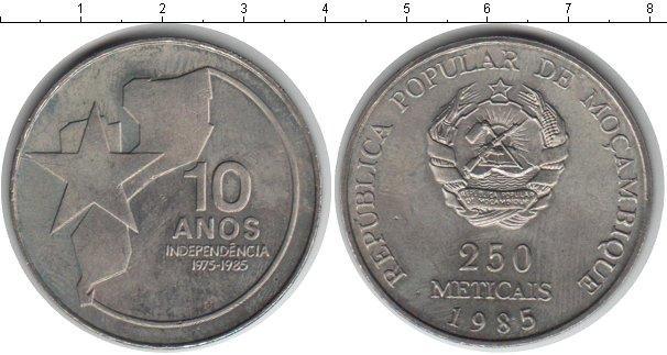 Каталог монет - Мозамбик 250 метикаль
