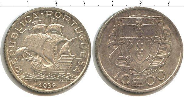 Каталог монет - Португалия 10 эскудо