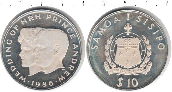 Каталог монет - Самоа 10 тала