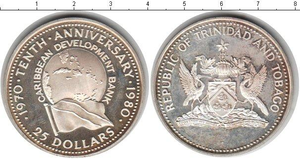 Каталог монет - Тринидад и Тобаго 25 долларов