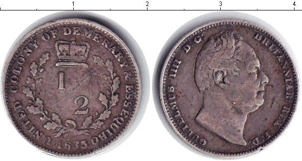 Каталог монет - Эссекуибо и Демерара 1/2 стивера