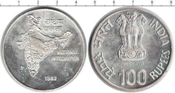 Каталог монет - Индия 100 рупий