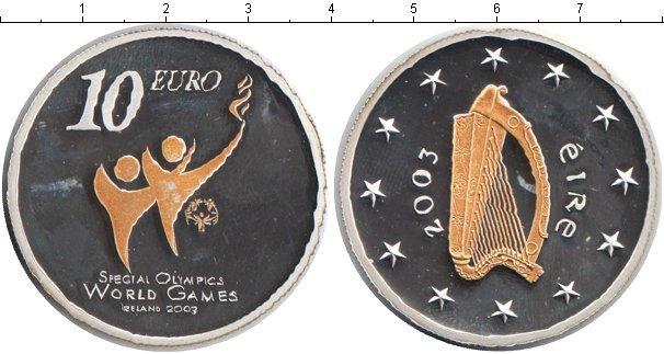 Каталог монет - Ирландия 10 евро