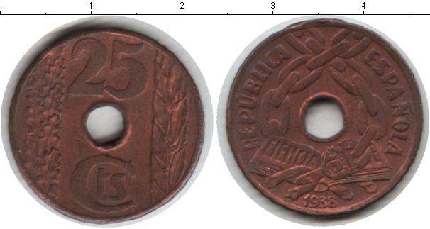 Каталог монет - Испания 5 сентим