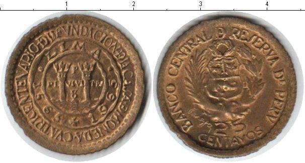 Каталог монет - Перу 25 сентаво