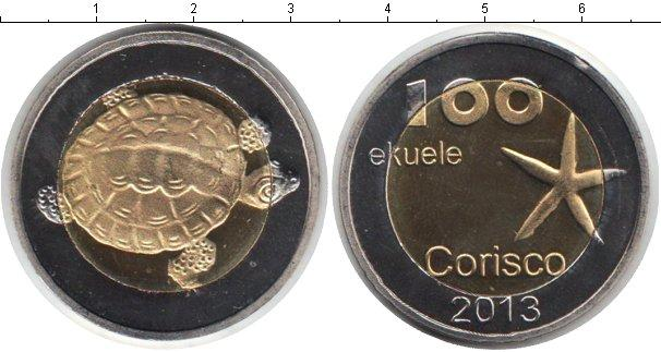 Каталог монет - Кориско 100 экуэле