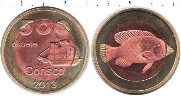 Каталог монет - Кориско 500 экуэле