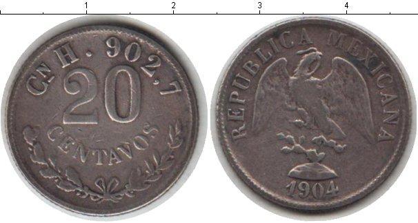 Каталог монет - Мексика 20 сентаво