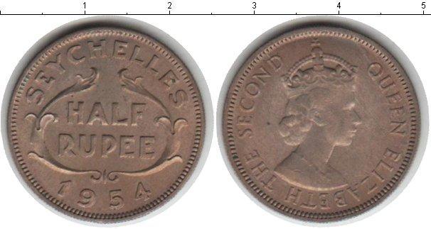 Каталог монет - Сейшелы 1/2 рупии