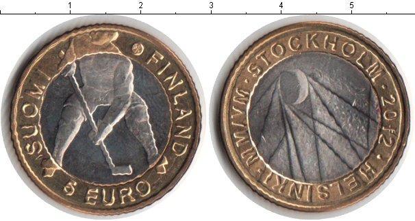 Каталог монет - Финляндия 5 евро
