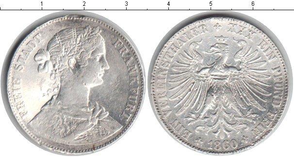 Каталог монет - Франфуркт 1 талер