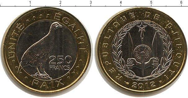 Каталог монет - Джибути 250 франков