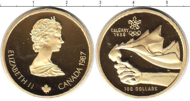 Каталог монет - Канада 100 долларов
