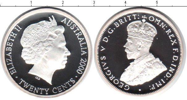 Каталог монет - Австралия 20 центов